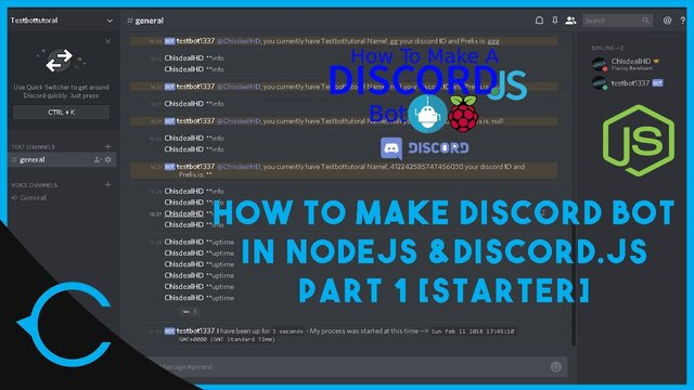 [TUT] How to Create a Discord bot in Discord.js using NodeJS [Latest][Part 1]