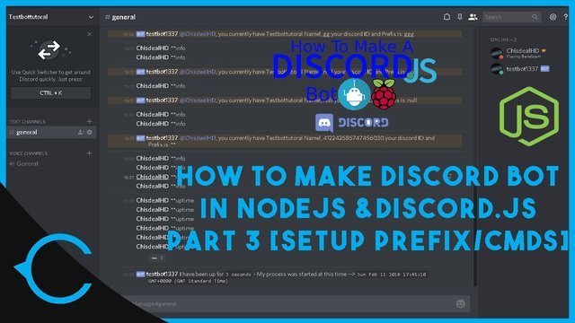 [TUT] How to Create a Discord bot in Discord.js using NodeJS [Latest][Part 3]